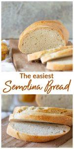 Semolina Bread Collage
