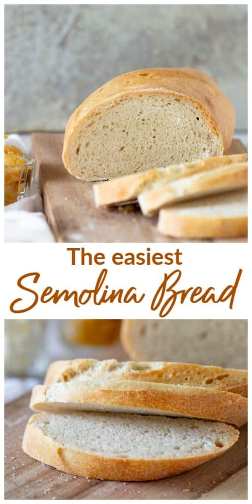 Semolina Bread Collage