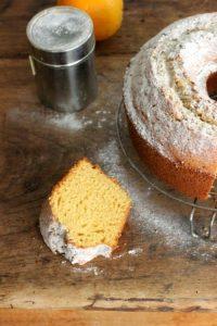 Orange Rum Cake Vintage Kitchen