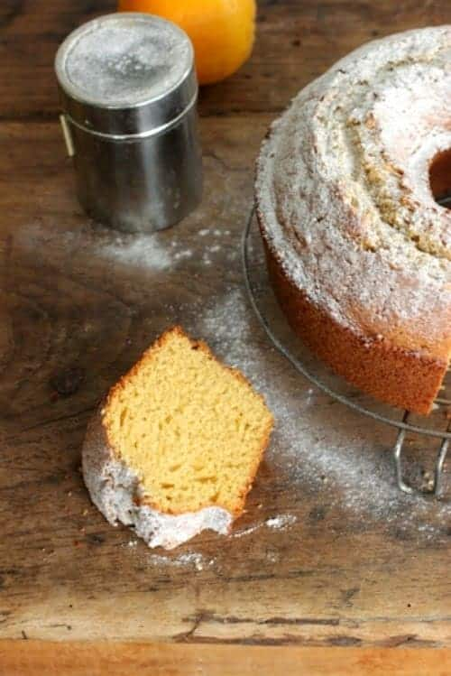Orange Rum Cake - Vintage Kitchen