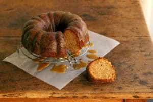 Maple Walnut Pound Cake