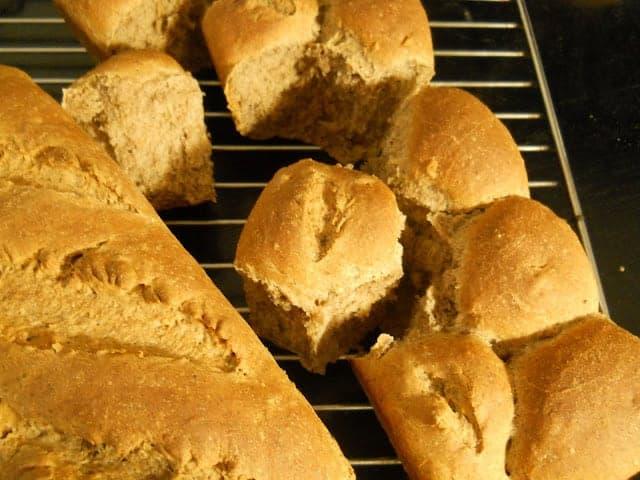 Buckwheat Bread with Cinnamon and Walnuts