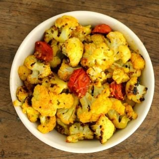 Spicy Turmeric Ginger Cauliflower