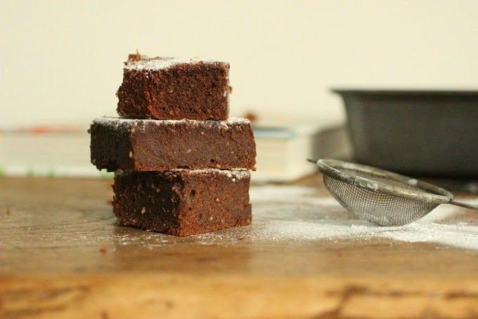 Chocolate Almond and Buckwheat Cake