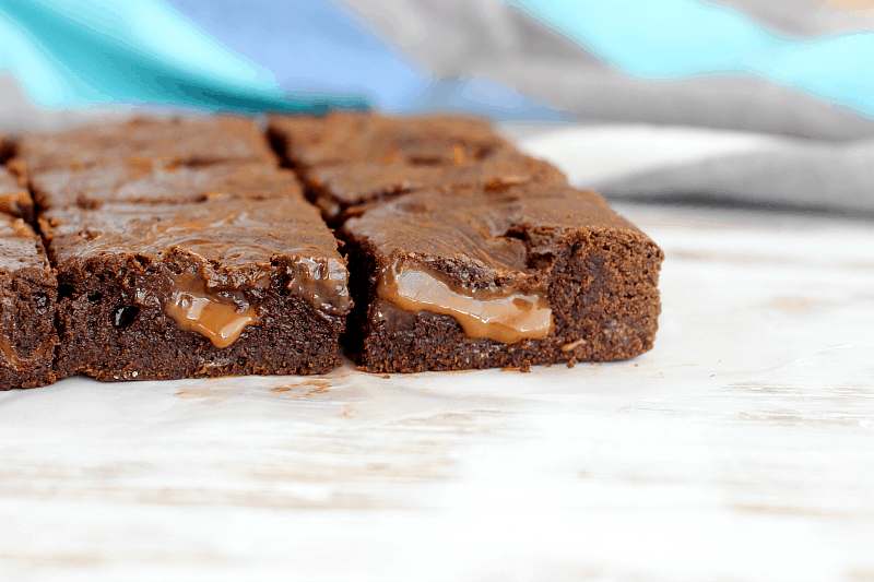 David Lebovitz's Dulce de Leche Brownies