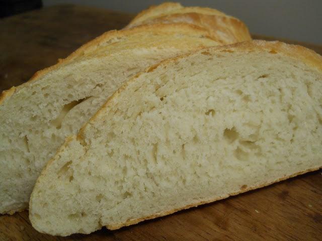 Semolina Bread + Pea, Mint and Goat Cheese Bruschetta