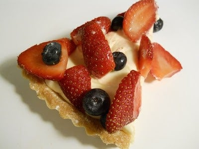 White Chocolate Berry Tart