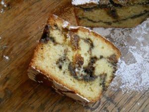 FIG AND APRICOT COFFEE CAKE