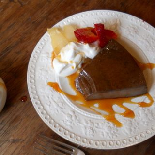 Cinnamon Chocolate Flan #SundaySupper