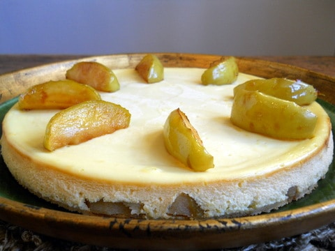 Apple Cheesecake  #SundaySupper