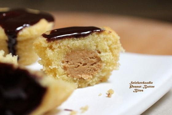 Snickerdoodle Peanut Butter Bites