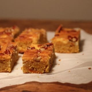 Pumpkin Pecan Sheet Cake – a guest post at Magnolia Days