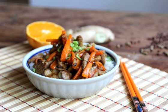 Crunchy Szechuan Pork and Carrots