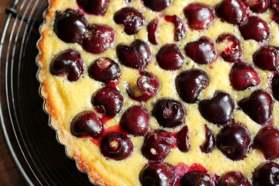Bill Granger's Fresh Cherry Tart