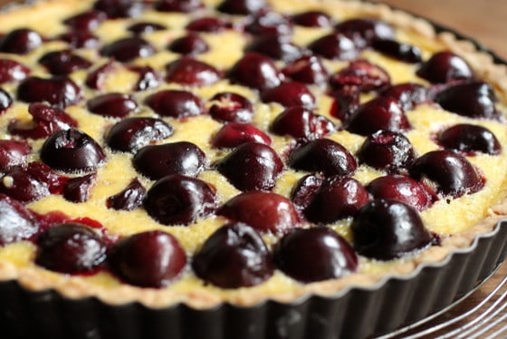 Bill Granger's Fresh Cherry Tart