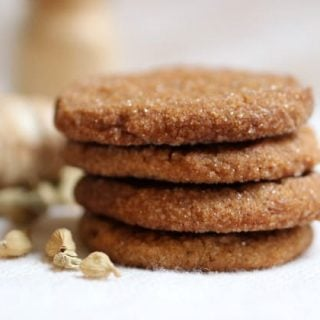 Spicy Ginger Cardamom Cookies