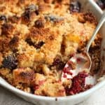 blackberry peach brown betty