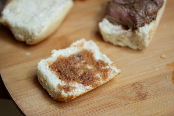 Marinated Steak and Chimichurri Sliders