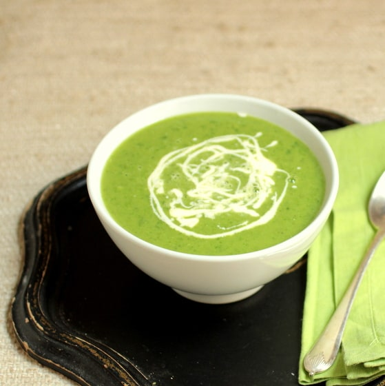 Cheating-on-Winter Pea Soup