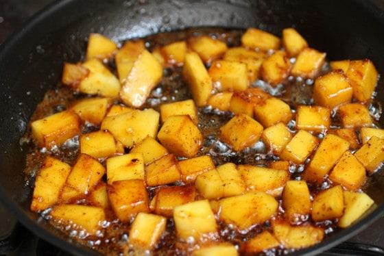 Caramelized Mango Tropical Bundt Cake