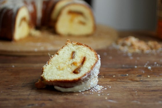 Caramelized Mango Tropical Bundt Cake