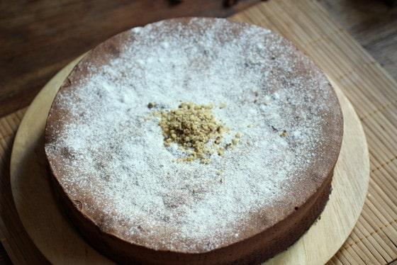 Flourless Chocolate Bean Cake