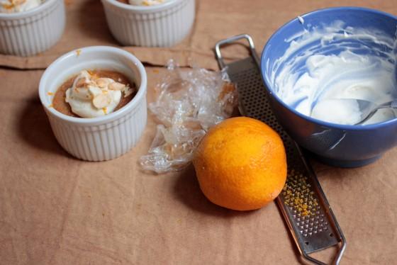 Salted Caramelized White Chocolate Custards