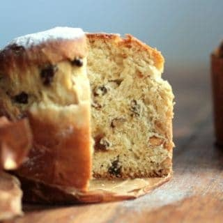 Almond ginger kulich (an Easter bread)