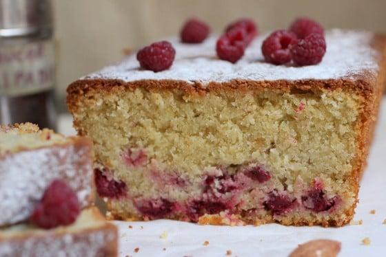 Raspberry Almond Cake