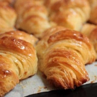 French all butter Croissants