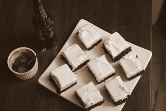 Creamy Fudgy Devil´s Food Stout Squares