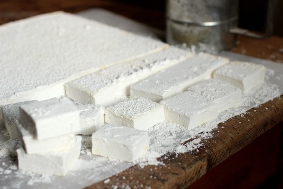 Homemade Vanilla Marshmallows  #SundaySupper