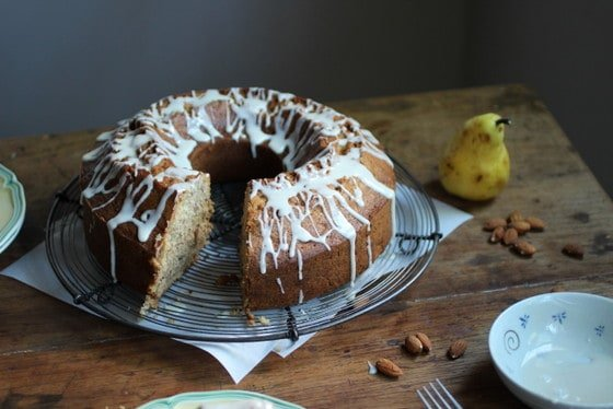Pear and Almond Cake – a guest post at Funny Life Stories