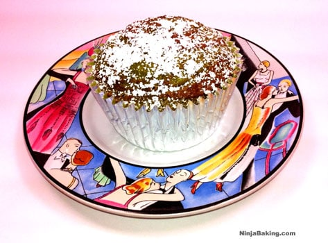 Matcha Nutella Tango Cupcakes – a guest post from Ninja Baking