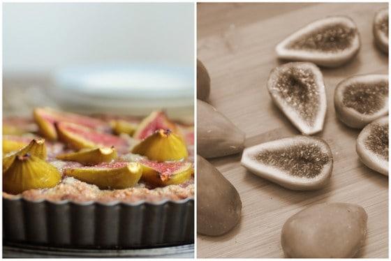 Fresh Fig and Walnut Pie
