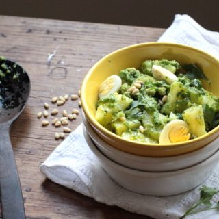 Royal Potato Pesto Egg Salad
