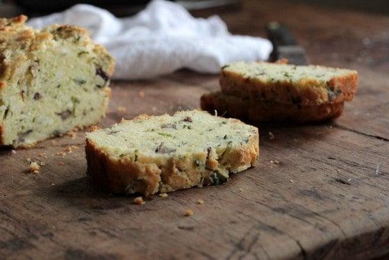 Cheddar Scallion Pecan Quick Bread #FRD2013