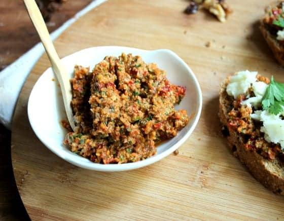 Sun Dried Tomato and Pine Nut Pesto