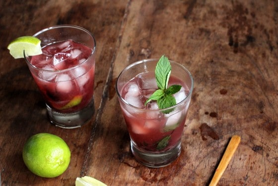 Cherry Caipiroska – a vodka cocktail  #sundaysupper