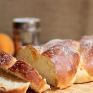 Fresh Peach Challah #TwelveLoaves