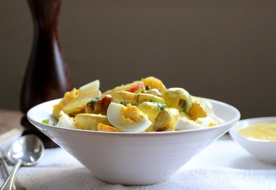 Peruvian Potato Salad