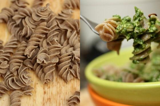 Spinach, Lemon and Pine Nut Pesto
