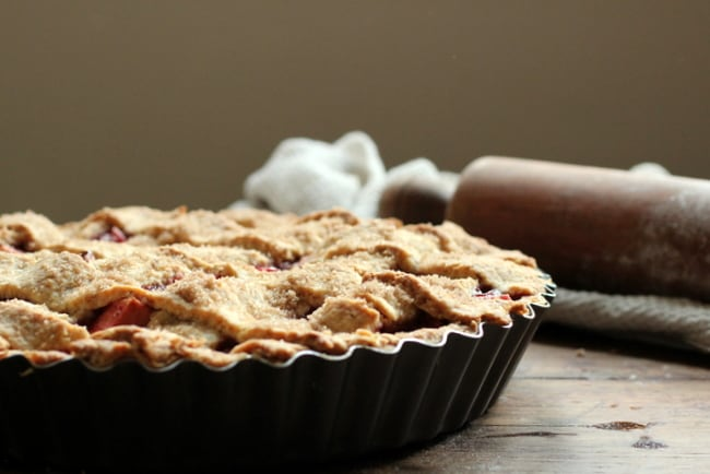 Raspberry Apple Crostata