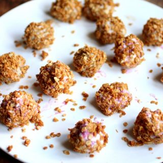 Ice Cream Granola Truffles