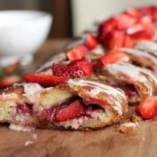 STRAWBERRY LIME DANISH