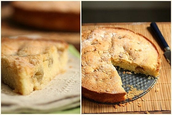 Roasted Grape Vanilla Cake