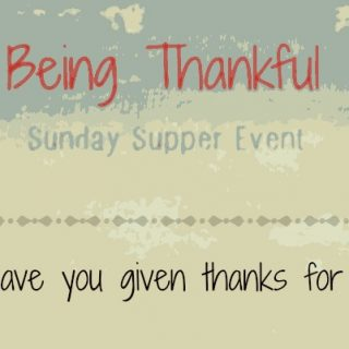 This coming #SundaySupper is all about #BeingThankful #Thanksgiving and #Hanukkah