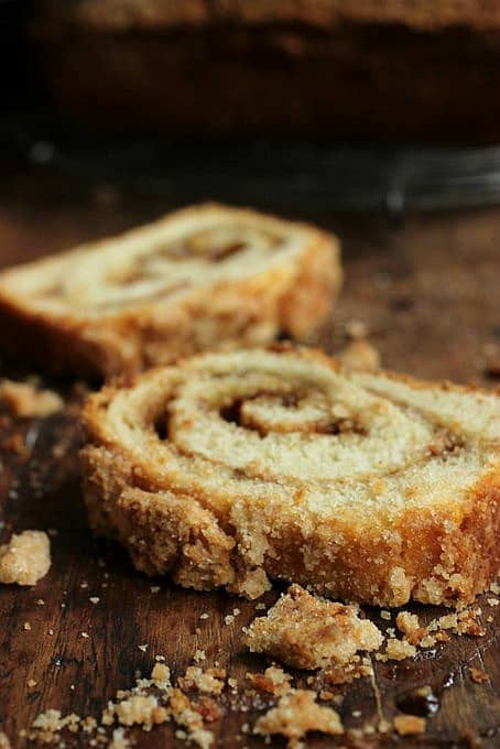 Sweet Potato Spice Swirl Bread