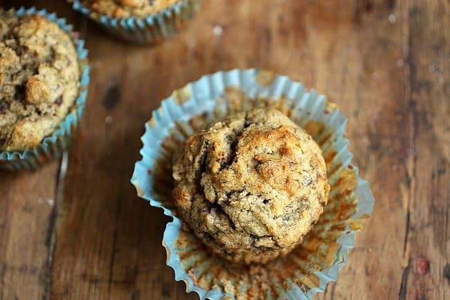 Banana Chocolate Pecan Quinoa Muffins - Gluten Free