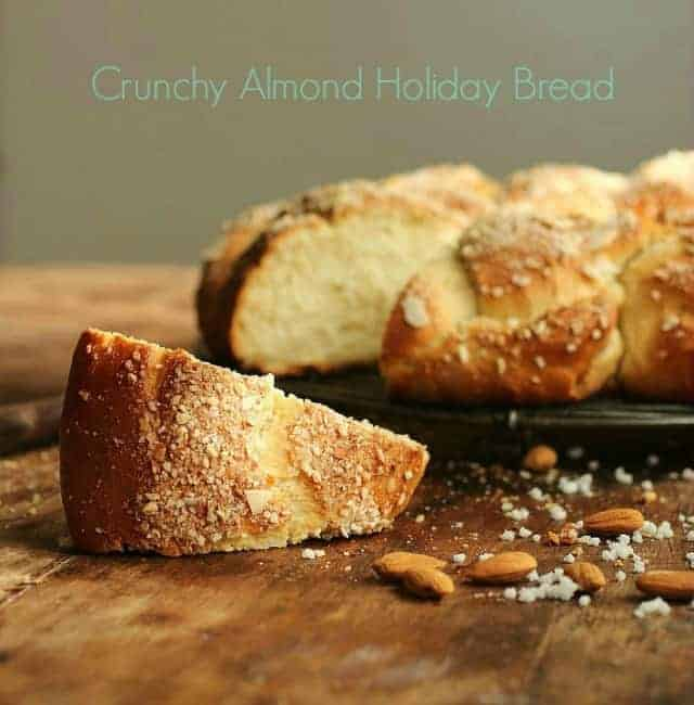 Crunchy Almond Holiday Bread